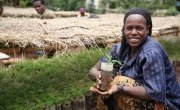 Shuble Baza, who works at a Concern supported nursery in Uguna Fango, Southern Ethiopia. Photo: Kieran McConville / Concern Worldwide Photo: Kieran McConville/ Concern Worldwide.