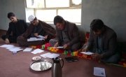 A men's workshop in Chaab district, Afghanistan. Photo: Rosaleen Martin / Concern Worldwide.