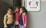 Syrian children attending Concern's non-formal education in Lebanon. Photo: Chantale Fahmi/Concern Worldwide.