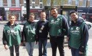 Concern Street Fundraisers near Baker Street, London.