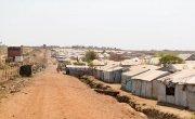 The edge of the PoC in Juba, South Sudan. Photo: Steve De Neef