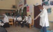 Staff receive training in hand washing, Somalia. Photo: Concern Worldwide