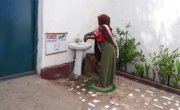 Health facilities have implemented new measures to protect people from Covid-19, Somalia. Photo: Concern