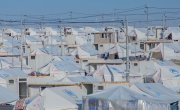 A refugee camp in north-west Iraq. Photo: Gavin Douglas