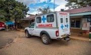 General view of health care facility. Kibera slum, Nairobi, Kenya Photo : Ed Ram