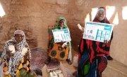 Soap distribution in Folakawa, Tahoua, Niger. Photo: Marie Rabo
