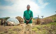 Giro Dima, a health & nutrition officer in Turkana, northern Kenya. Photo: Gavin Douglas