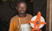 Yumba Kalofando Banjamin, a previous Graduation Programme participant in Manono, DRC. Photo: Kieran McConville