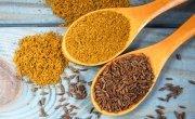 Cumin seeds and ground cumin