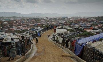 Cox'z Bazar refugee camp in Bangladesh. Photo: Abir Abdullah / Concern Worldwide.