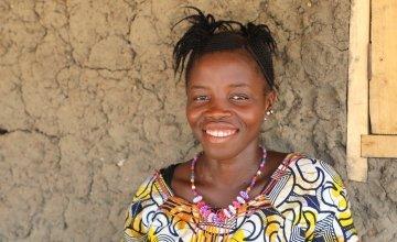 Salay Sesay was amongst the first in her village to contract the disease in Makelfa village, Tonkolili, Sierra Leone.  Photographer: Jennifer Nolan / Concern Worldwide