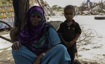 Roda Osman with her son Oman. Photo: Eamon Timmins/Concern Worldwide