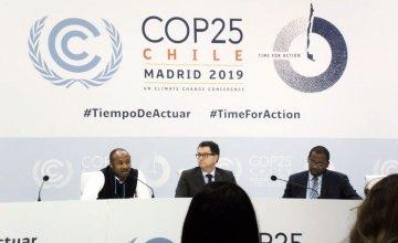 Climate Talks, Madrid, 2019. Photo credit: Vox
