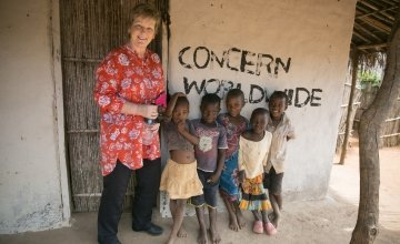 Anne O'Mahony, International Programme Director with Concern. Photo: Concern Worldwide.