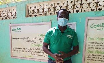 Kenneth Oyik, Area Coordinator for Concern in West Darfur