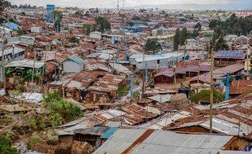 General View of Kibera Slum, Nairobi, Kenya Photo: Ed Ram