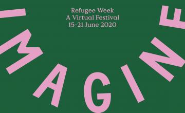 Refugee Week promotional banner