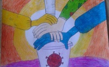 Drawing by Sadeed's family, Pakistan