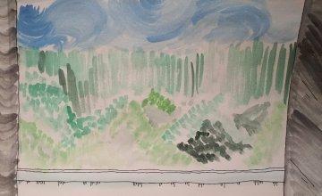 'Green view I encounter every morning along the corridor', Anyang, Kyeonggi-do. Artist: Yeon Ju Yoo