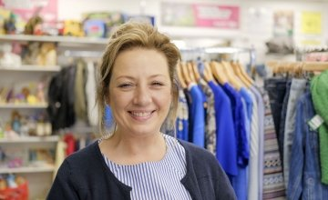 Antrim Road shop manageress Sharon McLoughlin. Photo: Darren Vaughan