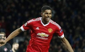 Marcus Rashford spearheaded a movement to make sure underprivileged schoolchildren are able to have access to free food over the holidays. Photo: AP