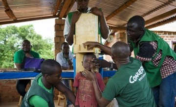 A Concern health screening clinic for children under-five in CAR