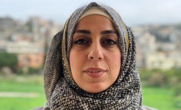 Alaa Idrees, Protection training officer. Photo: Concern Worldwide