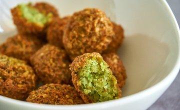 Bowl of falafels. Credit: Unsplash