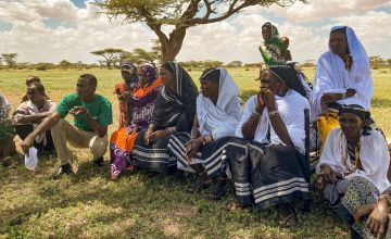 The women of the Chalbi Salt Self-Help Group tell their story