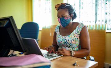 Maryline Obenga, Senior Manager, Health and Nutrition Programme, Concern Worldwide Kenya Photo: Ed Ram / Concern Worldwide