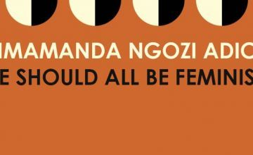 'We should all be feminists' book cover.