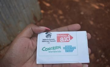 Much of our response is taking place through our existing consortium with Christian Aid and Habitat for Humanity, local partners, and the Alliance2015.