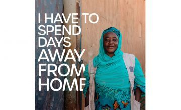 Ramatou Jean Coffi, Concern's Community Awareness Officer in the Tahoua region of Niger.