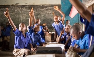 RC Primary School, Makali Community. Photo: Michael Duff/May 2014/Sierra Leone