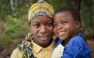 Married mum-of-four Clotilde Ndayisenga (25) and her five-year-old daughter Ines, Rugombo, Cibitoke, Burundi
