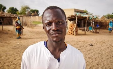 Hassan Ismail is the chairman of his town's disaster risk reduction committee