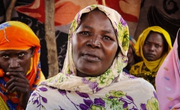 Achta Brahim is the leader of the women's self help group in Korore, Chad.