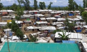 Densely populated refugee settlements in the Rohingya camp in Cox's Bazar. Photo: Md. Al-Nasim