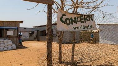 Concern's Nutrition Center in the POC of Juba, South Sudan. Photo: Steve De Neef / Concern Worldwide.