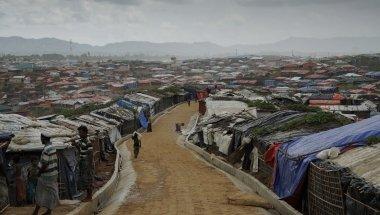 Over view of Kutupalong camp, Ukhiya. Photo: Abir Abdullah