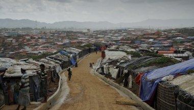 Over view of Kutupalong camp, Ukhiya. Photo: Abir Abdullah/Concern Worldwide