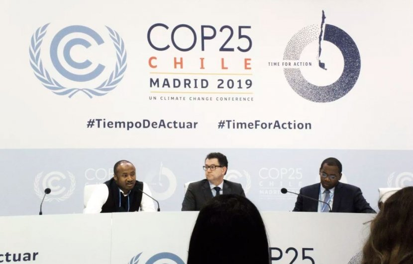 Climate Talks, Madrid, 2019. Photo credit: Vox