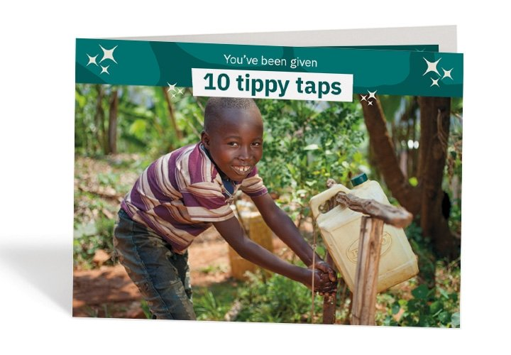 Kevin, six, is a handwashing pro thanks to the tap in his Burundi village! Photo: Abbie Trayler-Smith / Concern Worldwide