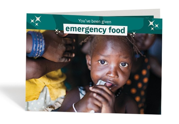 This young child from South Sudan can avoid malnutrition thanks to life-saving  sachets of peanut paste. Photo: Steve De Neef / Concern Worldwide