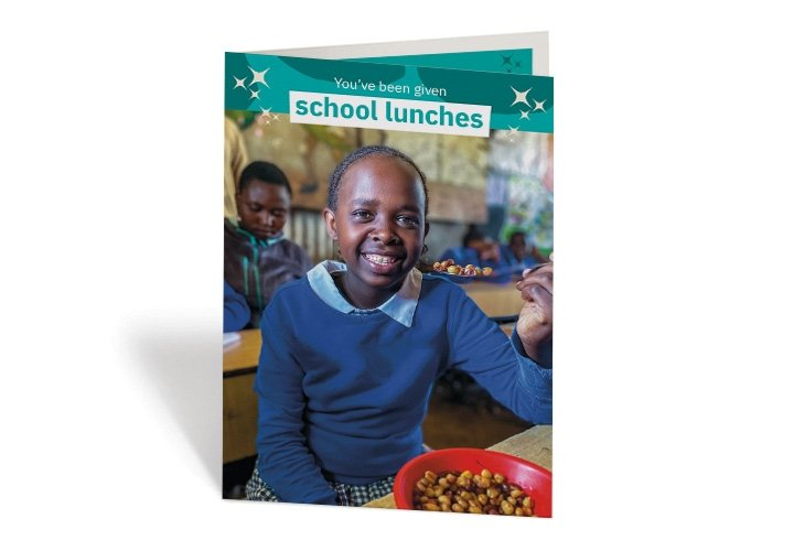 Every student at the Gatoto Community School in Nairobi gets daily breakfast and lunch meals thanks to Concern. Photo: Jennifer Nolan / Concern Worldwide