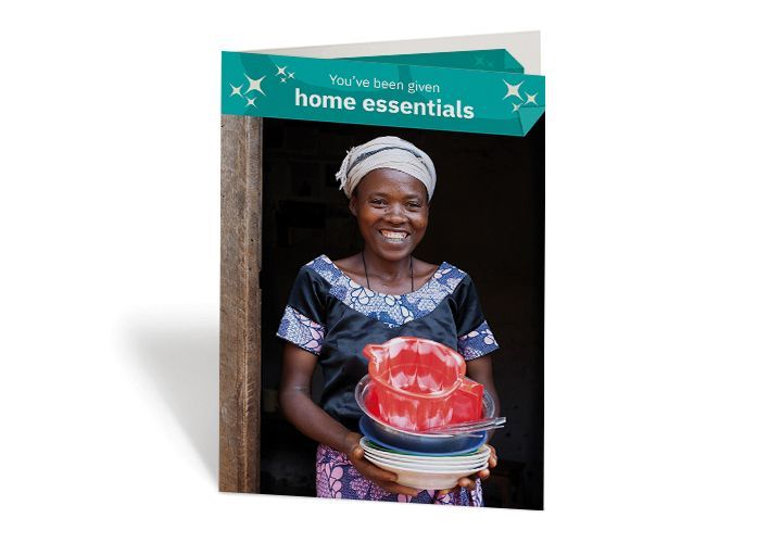 Jeanne improved hygiene in her home, thanks to these essential items. Photo: Abbie Trayler-Smith / Concern Worldwide