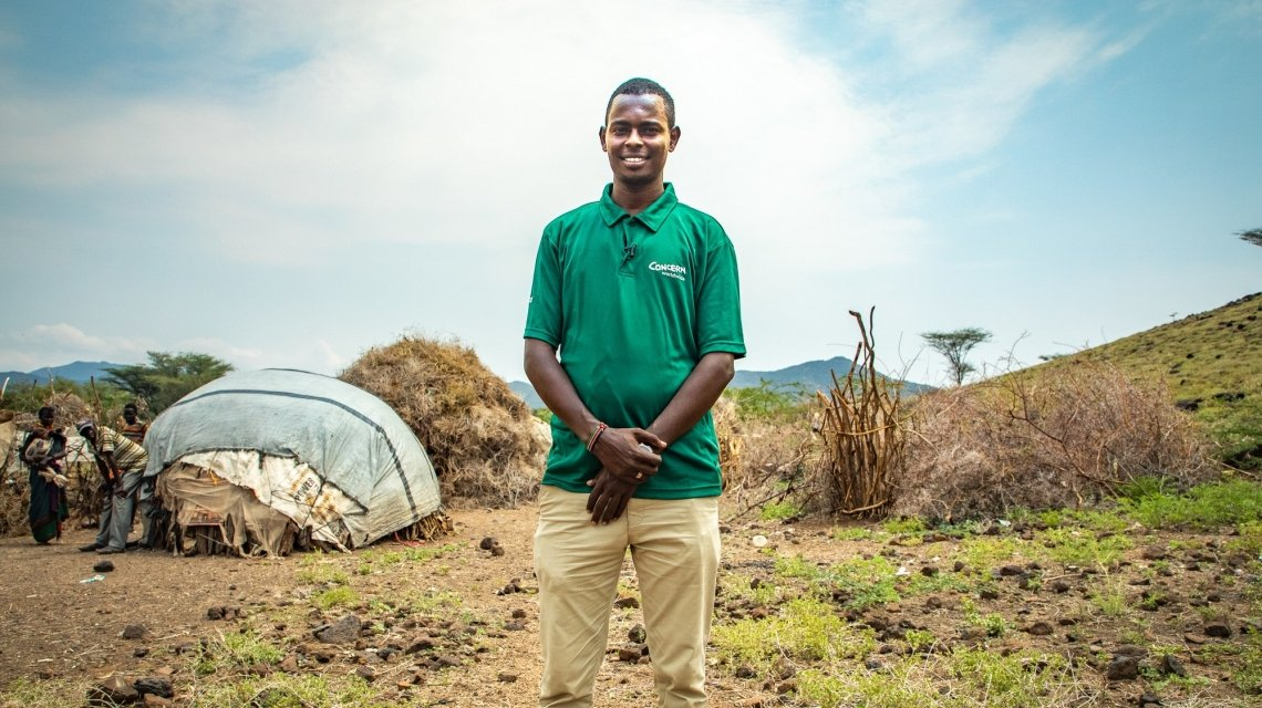 Giro Dima, a health & nutrition officer in Turkana, northern Kenya. Photo: Gavin Douglas