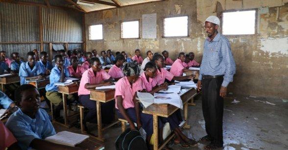 Maikona Primary School, Maikona, Kenya Photo: Jennifer K Nolan/Concern Worldwide.
