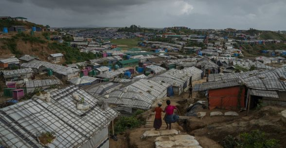 Cox's Bazar Refugee Camp, Bangladesh is the largest displacement camp in the world. It is home to almost 900,000 Rohingya people who have fled violence in Myanmar. Photo: Abir Abdullah/ Concern Worldwide