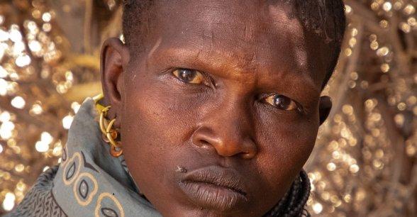 Ng'ikario Ekiru is a pastoralist farmer affected by drought. Photo: Gavin Douglas